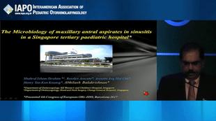 Microbiologia de secreção aspirada do seio maxilar de crianças com sinusite em um Hospital Pediátrico Terciário em Singapura