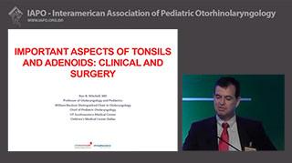Pontos de referência importantes (clínicos e cirúrgicos) a serem destacados nas patologias das tonsilas palatinas (amígdalas) e rinofaríngea (adenoide)