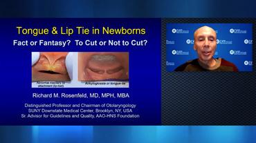 Freio lingual e labial nos neonatos. Verdade ou fantasia? Cirurgia? Sim ou não?